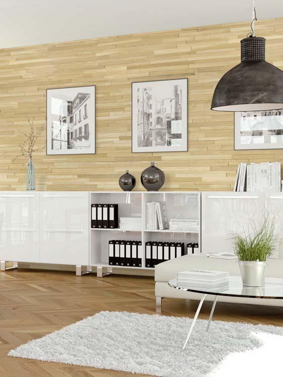 idée de bois pour l'intérieur d'une chambre moderne