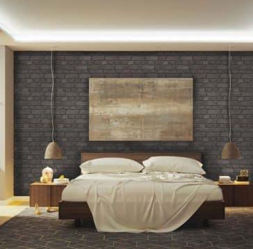 mur decoratif horizontal loft bloc