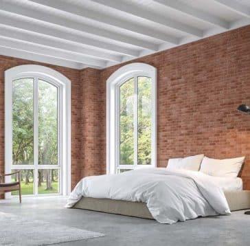 idee de brique pour votre chambre a coucher