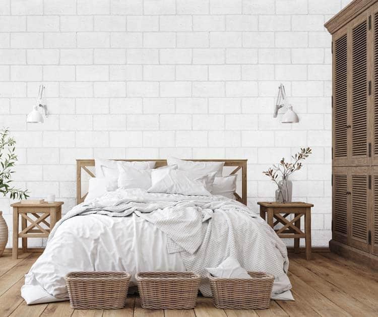 loft bloc blanc inspiration chambre a coucher
